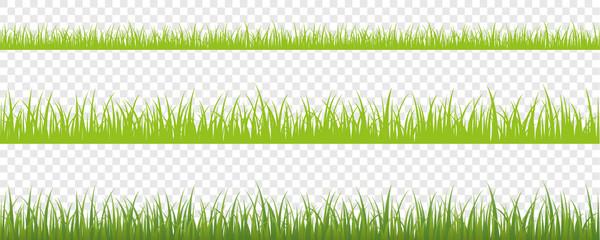 grüne wiese hintergrund 3er Set