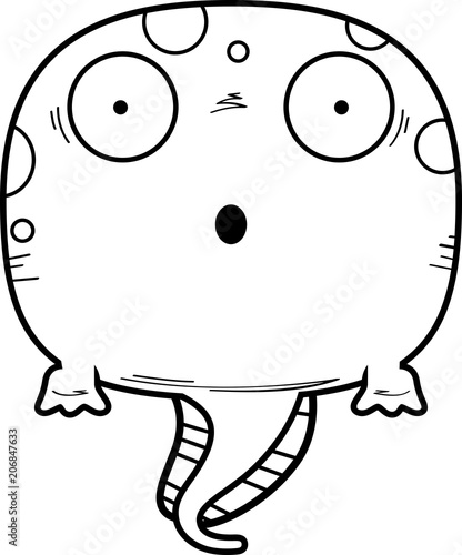 Surprised Cartoon Tadpole Stock Image And Royalty Free Vector Files