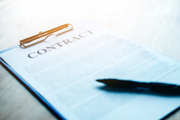 Business contract from