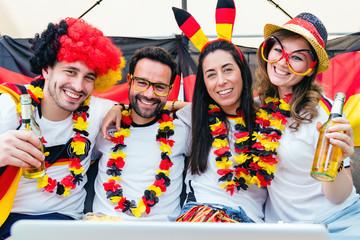 Deutsche Fußball Fans
