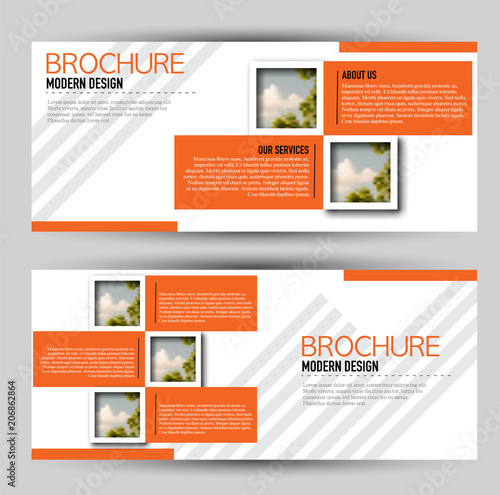 set of banners for web advertisement or site headers print out promotion template horizontal