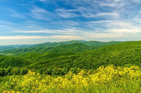 Blue Ridge Mountains of the Skyline Drive