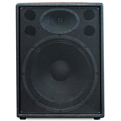 sound black grid on white background isolation