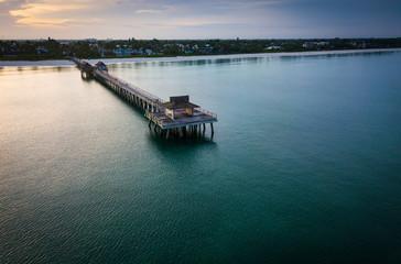 Fotobehang Napels Naples Florida Pier