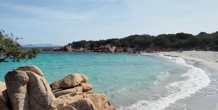 Spiagge di Capriccioli - Bucht an der Smaragdküste auf Sardinien