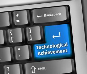 Keyboard Illustration Technological Achievement