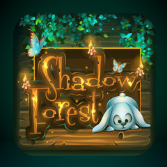 Icon for game user interface Shadowy forest