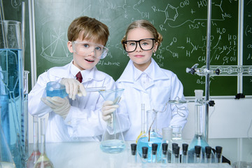 educational process in lab