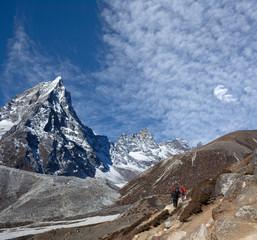 Road to Everest Base camp in Sagarmatha National Park, Nepal