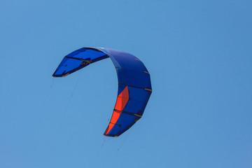 Kite surfing, Aegean Sea, kiss of two seas