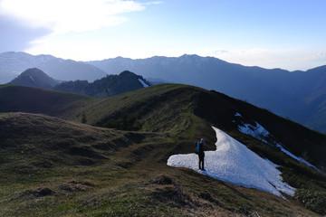 Gruzja, Park Narodowy Borjomi – Kharagauli - górski krajobraz,  punkt widokowy Lomis Mta