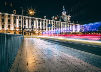 Fotomurales - wroclaw by night
