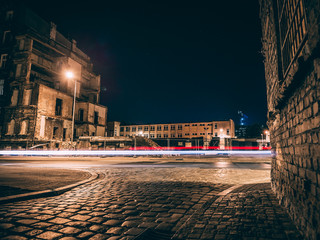 Fotomurales - nadodrze by night