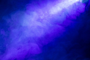 Smoke abstract on black background