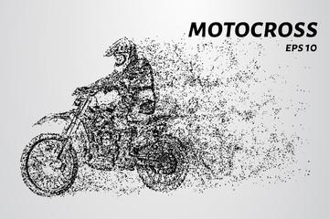 Motocross particles. Motocross concept design