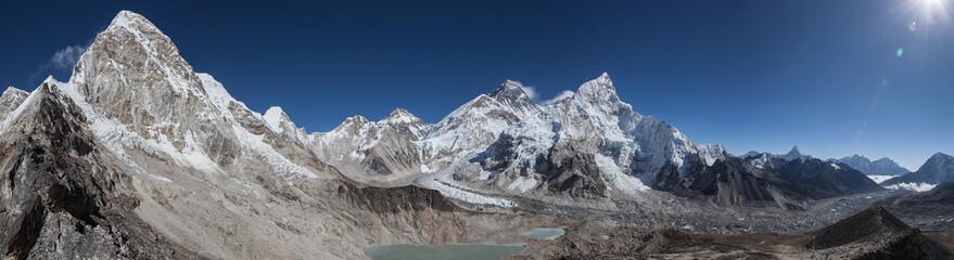 Everest Lhotse PumoRi AmaDablam Himalaje treking