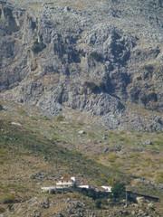 Naturaleza en Cartajima,pueblo blanco de Málaga, Andalucía (España) en la sierra de Ronda