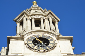 St Paul's Cathedral Clock in London 1