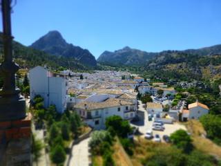 Grazalema, pueblo con encanto de Cadiz en Andalucia (España)