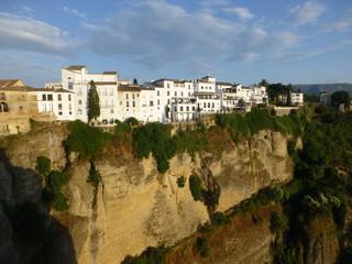Desfiladero de Ronda, ciudad historica de Málaga (Andalucia,España) situada sobre un profundo desfiladero