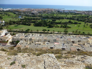Almerimar / Ensenada San Miguel, poblacion  situada en El Ejido, Almeria ( Andalucia, España)
