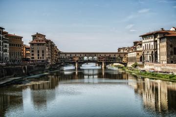 Ponte Vecchio Bridge in Florence - Italy