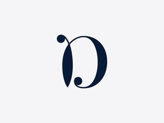 Letter D Alphabet Logo
