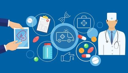 Online medicine banner