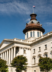 Ornate Architecture at the South Carolina State House in Columbia