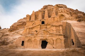 The Obelisk Tomb and Bab al Siq Triclinium at Petra, Jordan