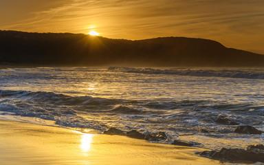 Golden Rays - Sunrise Seascape