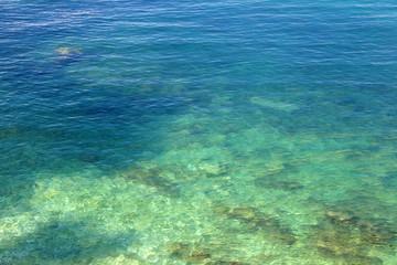 Deep Blue Mediterranean Sea in Craotia - Istria