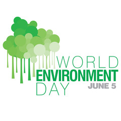 Poster on International World Environment Day celebrated on 5th of June