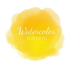 Vector Watercolor background 4