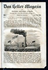 "American paddle wheeler catamaran ""Emma Troy"" (from Das Heller-Magazin, May 31, 1834)"