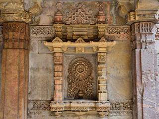 Foto auf Acrylglas Denkmal India, Adalaj Stepwell is a Hindu water building in the village of Adalaj, close to Ahmedabad town in the Indian state of Gujarat.