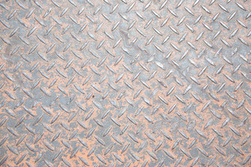 pattern style of steel floor for background