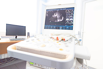 modern ultrasound machine