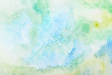 watercolor background. by drawing