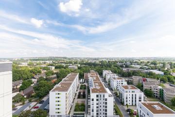 Blick auf Mainz - Hechtsheim