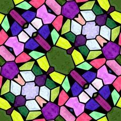Texture mosaic color