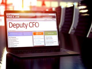 Deputy CFO Wanted. 3D.