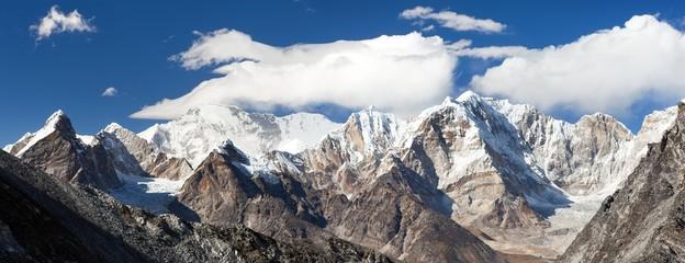 Cho Oyu from Kongma La pass, Khumbu valley