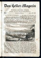 Bethany (Al-Eizariya), Palestinian city in West Bank (from Das Heller-Magazin, March 29, 1834)