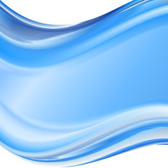 Blue gradient abstract background for business artwork
