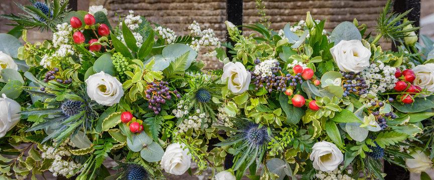 Decorative wedding flowers