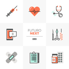 Healthcare Futuro Next Icons