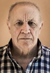 Retrato de hombre anciano