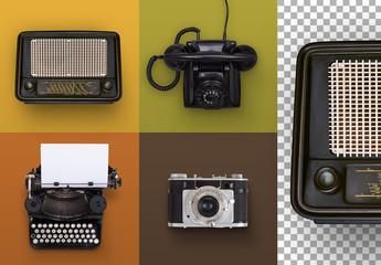 50s Vintage Media Set