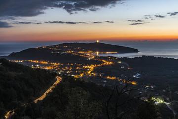 Capo Palinuro - Tramonto